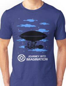 Journey into Imagination sky Unisex T-Shirt
