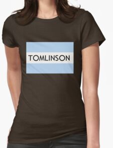 Toms Tomlinson Logo Womens Fitted T-Shirt