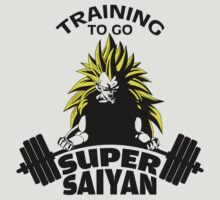 Training To Go Super Saiyan by nardesign