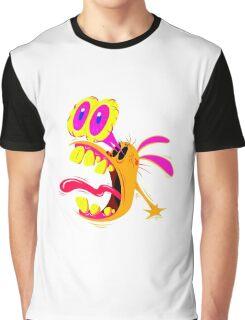 Ren Psycadelic Scream Graphic T-Shirt