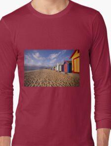 Brighton Beach - Australia Long Sleeve T-Shirt