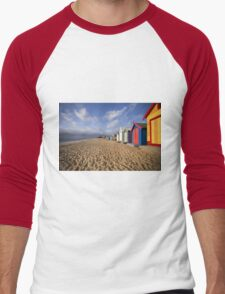 Brighton Beach - Australia Men's Baseball ¾ T-Shirt