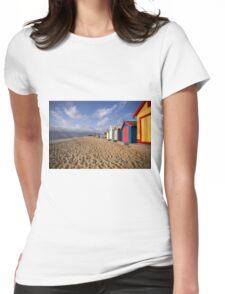 Brighton Beach - Australia Womens Fitted T-Shirt