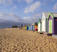 Brighton Beach - Australia Sticker