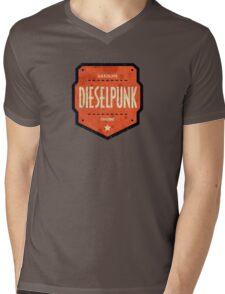 Dieselpunk Mens V-Neck T-Shirt