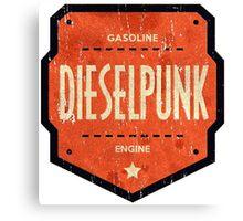 Dieselpunk Canvas Print