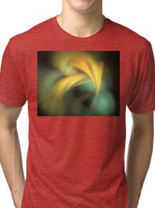 Teal Sun Rays Tri-blend T-Shirt