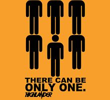 Highlander Movie There Can Be Only One Unisex T-Shirt