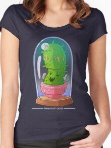 Frankenstein's cactus Women's Fitted Scoop T-Shirt