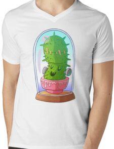 Frankenstein's cactus Mens V-Neck T-Shirt