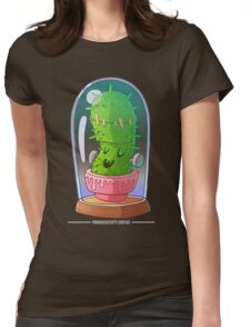 Frankenstein's cactus Womens Fitted T-Shirt