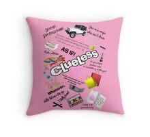 Clueless World Throw Pillow