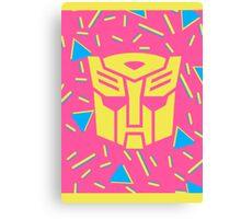 80s Autobot Insignia Canvas Print