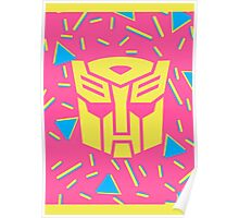 80s Autobot Insignia Poster