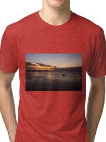 Brighton Sunset Tri-blend T-Shirt