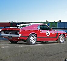1970 Ford Mustang Boss 302 III by DaveKoontz