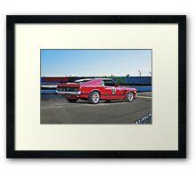 1970 Ford Mustang Boss 302 III Framed Print