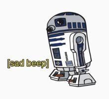 R2-D2 sad-beep One Piece - Long Sleeve