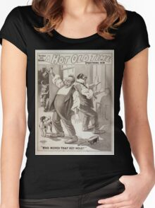 Performing Arts Posters The only and original A hot old time everything new 0081 Women's Fitted Scoop T-Shirt