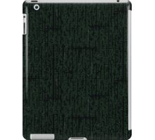Digital Rain iPad Case/Skin