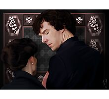 You flirted with Sherlock Holmes? Photographic Print