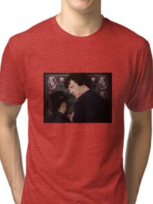You flirted with Sherlock Holmes? Tri-blend T-Shirt