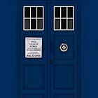 Police Public Call Box (main TARDIS) by vanessaisha