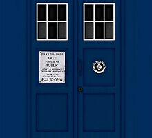 Police Public Call Box (main TARDIS) by vanessaisha