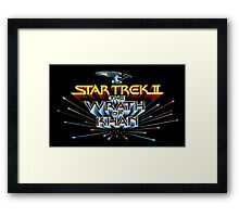 Wrath of Khan! Framed Print