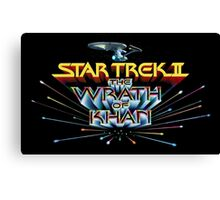 Wrath of Khan! Canvas Print