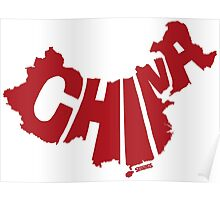 China Red Poster