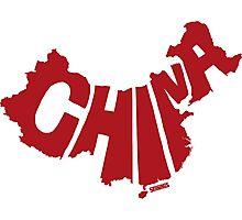China Red Photographic Print