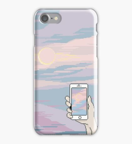 Taking in the view iPhone Case/Skin