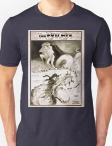 Performing Arts Posters Chas H Yales fantastic spectacle The evil eye or The many merry mishaps of Nid and the weird wonderful wanderings of Nod 1262 Unisex T-Shirt