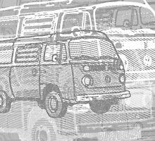 Grey Bay Campervan Montage by Ra12