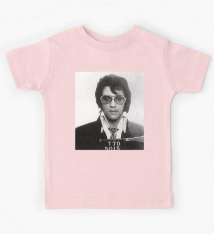 Elvis - Mug Shot Kids Tee