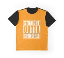Straight Outta Springfield Graphic T-Shirt
