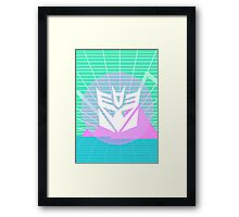 80s Decepticon Insignia Framed Print