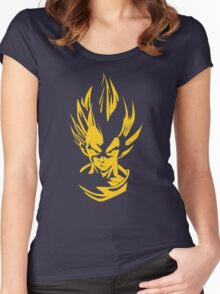 Saiyans Women's Fitted Scoop T-Shirt
