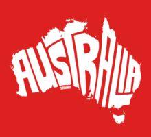 Australia White Kids Clothes