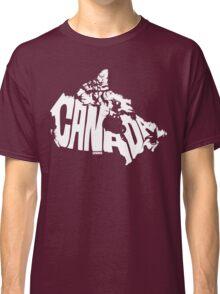 Canada White Classic T-Shirt