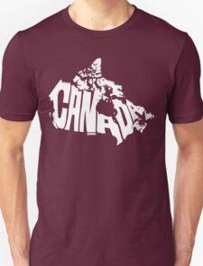 Canada White Unisex T-Shirt