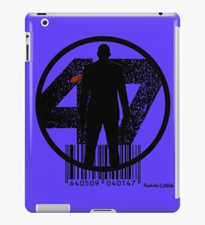 47 iPad Case/Skin