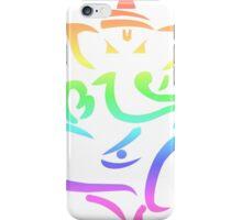 Rainbow Ganesha #2 iPhone Case/Skin