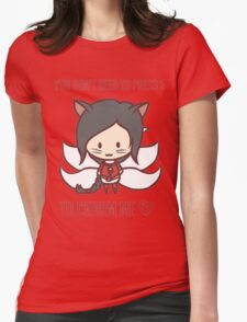 Charm me  Womens Fitted T-Shirt