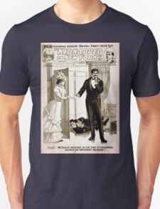 Performing Arts Posters The sensational comedy drama taken from life Kidnapped in New York by Howard Hall 1105 Unisex T-Shirt