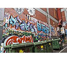 Graffiti HDR 1 Photographic Print