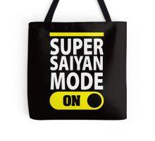 Super Saiyan Mode On Tote Bag