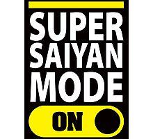 Super Saiyan Mode On Photographic Print