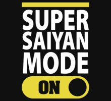 Super Saiyan Mode On T-Shirt